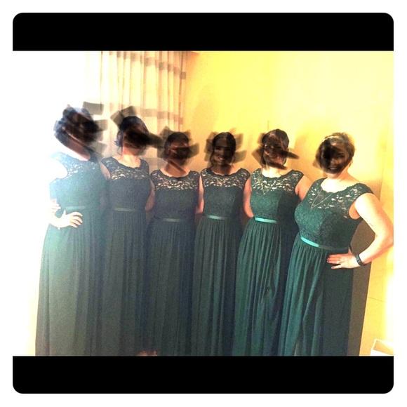 5cf1c87e8fc David s Bridal Dresses   Skirts - David s Bridal bridesmaid F19328 in  Juniper